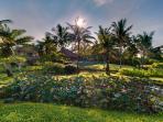 Ombak Laut - Gardens and villa