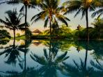 Ombak Laut - Pool reflections and bale