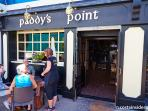 The famous Paddy's Point bar (10 minute walk)