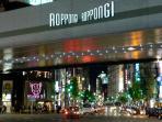 Roppongi - 5 minutes walk