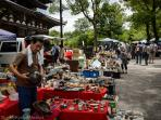 Kobo San Flea Market at the Toji Temple