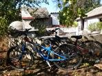 Use our bicycles. Cycle around the village experiance the real Bulgaria, BBQ oven in the background