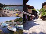 Truly stunning Sozopol, the old town and beach are breathtaking.