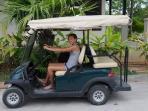 Electric buggy to travel around Eden Island