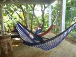 Inviting hammocks!