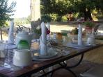 Colazione, portico, vista Lago Trasimeno
