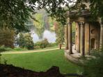 The beautiful Stourhead gardens and house just a short drive away.