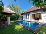 Villa Kailasha - Master plunge pool