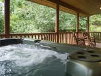 The hot tub is sure to please