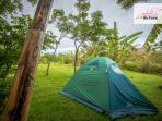 We rent : tents, mattresses and sleeping bags !