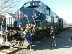 Take a scenic ride on the Blue Ridge Train