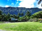 View of the Koolau Mountain Range