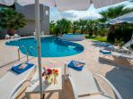 LUXURY XENOS VILLA2 WITH 4 BEDROOMS & PRIVATE POOL