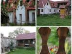 Transylvanian 1876 Barn near Sibiu renovated into a lovely cottage house. Artisan bakery on spot.