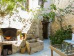 BBQ facilities and traditional wood oven at the courtyard!