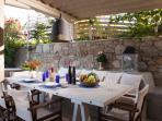 Private veranda | dinning area