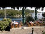 A wonderful restaurant in a small bay