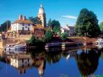 Nearby Upton upon Severn has 10 pubs and is host to a number of festivals throughout the year.