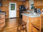 The full size kitchen