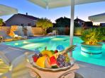 Beautiful villa with pool and large garden with barbecue