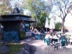 Jardin Santa Clara à 1 minute à pied de l'appartement