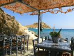 Fantastic sea side tavernas