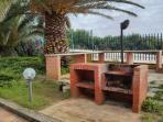 Barbecue interno al residence