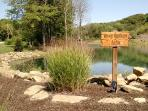 Many Springs Lake where guests can go canoeing and fishing, with catch-and-release.