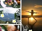 come for yoga,massage & organic food