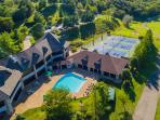 Country Club with Pool (Summer only) and tennis, golf, fitness room, full dinning
