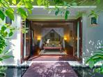Villa Kalimaya I - Guest bedroom pavilion 1 entrance
