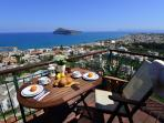 Amazing view over the gulf of Chania!