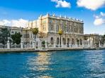 Dolmabahce Palace at a walking distance