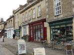 Corsham's pedestrianised High Street