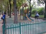 parc Rimbaud pour enfants à 5mn à pied