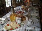 Good Morning - Breakfast offerings