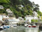 Polperro harbour, lovely for a summer stroll.