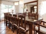 Inside formal dining