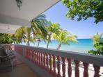Gran Vista beachfront balcony