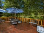 410 sq.ft. Deck with golf course adjacent