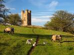 A lovely walk from the cottage to Broadway Tower