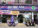 Convenience medical mart: 10 mins walking