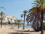 Direct access from our garden gate into Puerto Banus and onto the beach