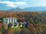 Mountain Loft Resort on beautiful mountainside