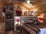 Beaver Fever #229- Bedroom with Fireplace