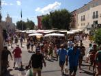 Port Grimaud market.