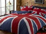 One of the 3 duvet design options (not the room)