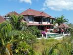 Stunning villa in lush greenery with astounding views