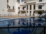 Communal Pool secured ideally for families worry about children safety