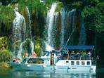 Organized boat excursions to National Parks Kornati and Krka - 140m from villa Punta